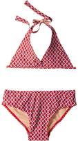 Toobydoo Red/Blue String Bikini (Infant/Toddler/Little Kids/Big Kids)