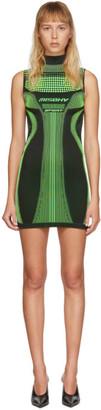 Misbhv Black and Green Active Dress
