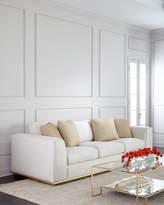 Bernhardt Prauge Golden-Base Sofa
