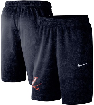 Nike Men's Navy Virginia Cavaliers Basketball Spotlight Performance Shorts