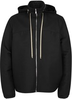Rick Owens Black Shell Windcheater