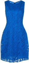 ADAM by Adam Lippes Seamed flare lace dress