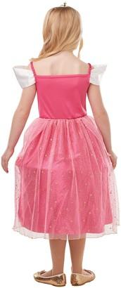 Disney Princess Glitter & Sparkle Sleeping Beauty Aurora Fancy Dress