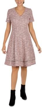 Robbie Bee Petite V-Neck Dress