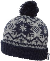 Muk Luks Snowflake Nordic Beanie (For Women)