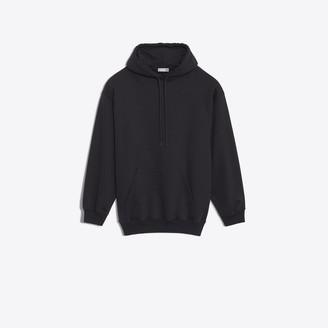 Balenciaga Printed hood sweater