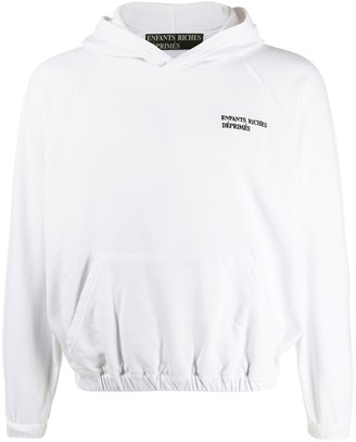 Enfants Riches Deprimes Relaxed-Fit Embroidered Logo Hoodie
