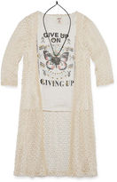 Arizona 3/4 Sleeve Layered Top - Big Kid Girls