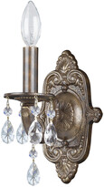 Crystorama Paris Market 1-Light Venetian Bronze Sconce