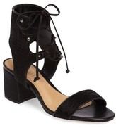 Schutz Women's Darby Genuine Calf Hair Sandal
