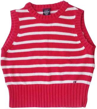 Tommy Jeans Red Cotton Knitwear
