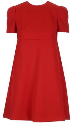 Alexander McQueen A-Line Mini Dress