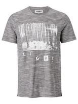 Jeanswest Jago Short Sleeve Print Crew Tee-Alloy Multi-L