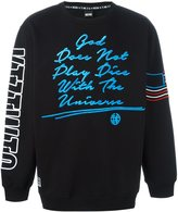 Kokon To Zai embroidered sweatshirt - men - Cotton - XS