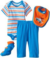 Bon Bebe 4 Piece Pant Set (Baby) - Outta Here-6-9 Months