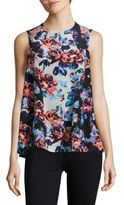 Mary Katrantzou Floral-Print Sleeveless Top