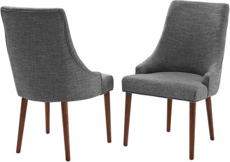 Crosley Landon 2Pc Upholstered Dining Chairs