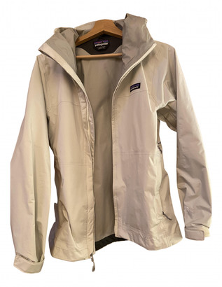 Patagonia Beige Synthetic Jackets