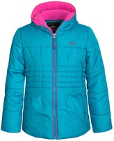 Pacific Trail Puffer Coat with Fleece Neck Gaiter - Fleece Lined (For Big Girls)
