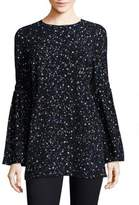 MICHAEL Michael Kors Shooting Star Bell Sleeve Tunic