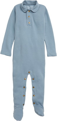 L'ovedbaby Polo Organic Cotton Footie