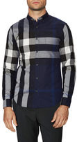 Burberry Printed Woven Sportshirt