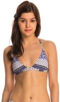 Roxy Swimwear Souk Paisley Racerback Fixed Tri Bikini Top 8145052