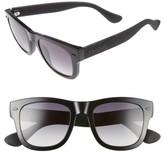 Havaianas Women's Paraty 50Mm Retro Sunglasses - Black/ Grey Shade