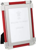 "William Yeoward Classic Shagreen Scarlet Photo Frame - 4""x6"