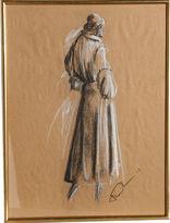 One Kings Lane Vintage Winter Coat by Sarli