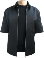 Christian Dior Black Polyester Shirts