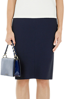 Marc Cain Slim Fit Pencil Skirt, Midnight Blue
