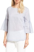 Nordstrom Women's Bell Sleeve Tie Back Top