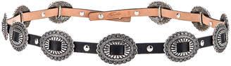 Redemption Small Plates Belt in Black | FWRD