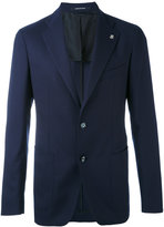 Tagliatore patch pockets blazer - men - Cupro/Virgin Wool - 46