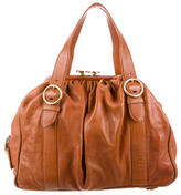 Marc Jacobs Leather Stam Satchel