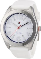 Tommy Hilfiger Women's 1781255 Silicone Quartz Watch with Dial