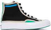 Thumbnail for your product : Converse Black Digital Terrain Chuck 70 Hi Sneakers