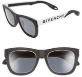 Givenchy Men's 52Mm Gradient Lens Sunglasses - Black White