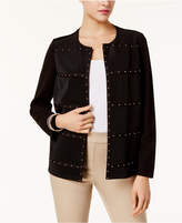 JM Collection Studded Jacket, Created for Macy's