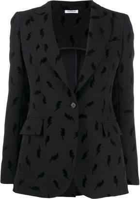 P.A.R.O.S.H. lightening print blazer