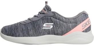 Skechers Womens Envy Misstep Grey/Coral
