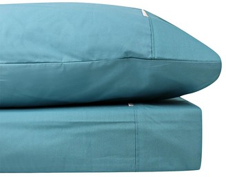 Odyssey Living Breathe Cotton Queen Sheet Set - Baltic Blue