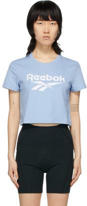 Reebok Classics Blue Vector Crop T-Shirt