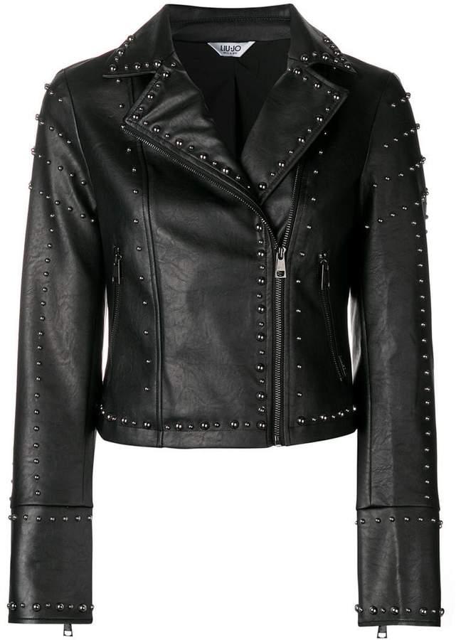 Liu Jo studded biker jacket