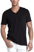James Perse V-Neck Jersey T-Shirt, Black