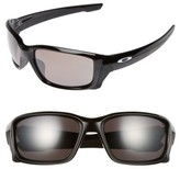Oakley Women's Straightlink 61Mm Polarized Sunglasses - Black/ Prizm P