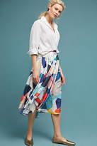 Miranda Dunn Abstract Shapes Midi Skirt