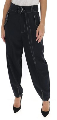 Marni Belted High Rise Trousers