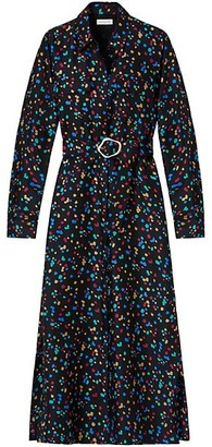 Lafayette 148 New York Long Doha Silk Dress
